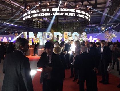 Un momento della serata di apertura di LiberaImpresa di Azimut a Milano