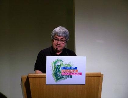 Ermete Realacci, presidente della VIII Commissione Ambiente della Camera e presidente del gruppo di lavoro congiunto sulla green economy