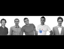 Il team di Italify: da sinistra a destra, Davide, Marco, Alex, Stefano e Fabrizio