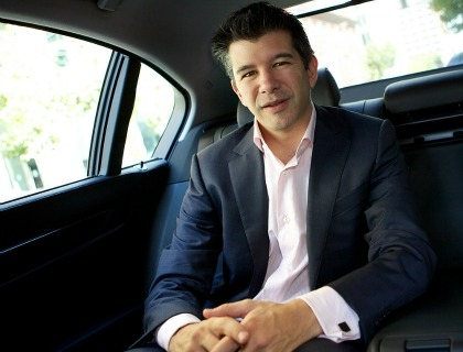 Il co-founder e AD di Uber, Travis Kalanick