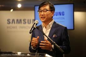 BK Yoon, il Ceo di Samsung