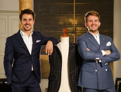 I co-founder di Lanieri.com Simone Maggi e Riccardo Schiavotto