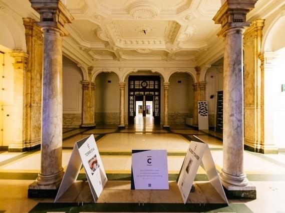 Una sala interna di Copernico Torino