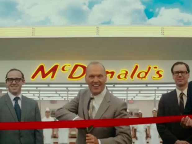Una scena del film The Founder