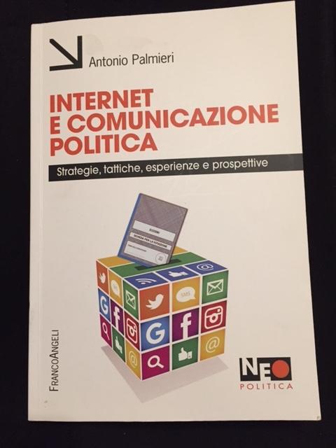 La copertina del libro di Antonio Palmieri