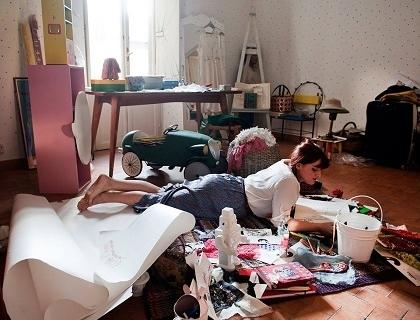 Benedetta Bruzziches, 28 anni, titolare dell'omonima casa di produzione di borse
