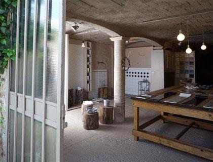 La sede di Attica ceramiche a Villalunga di Casalgrande (Reggio Emilia)