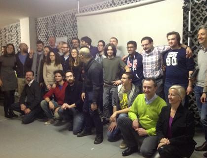 I vincitori dello Startup Weekend Milano 2014 con la giuria