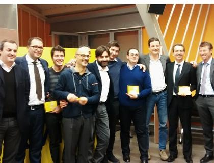 La premiazione delle 3 startup selezionate per DigitalOn