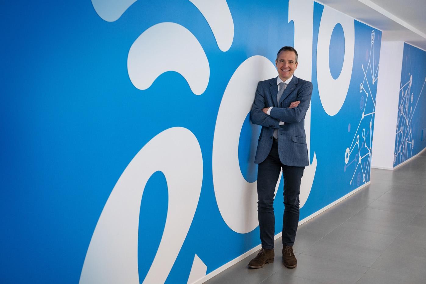 Luca Spada, presidente di NGI, che possiede il marchio Eolo
