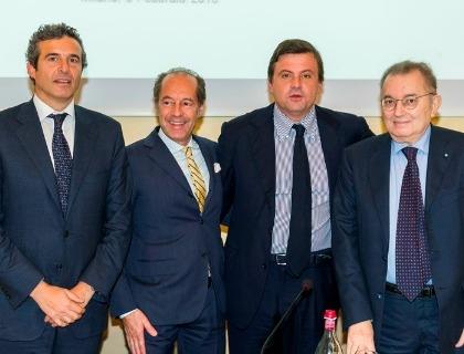 Riccardo Monti, Ettore Riello, Carlo Calenda, Giorgio Squinzi