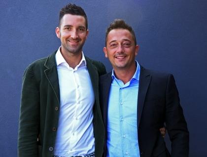 Il team di Habble: Antonio De Luca e Alessio Del Gratta