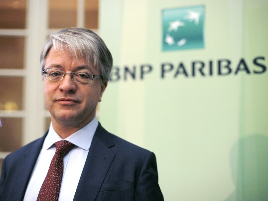 Jean-Laurent Bonnafé CEO di Bnp Paribas