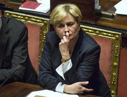 Il ministro dello Sviluppo economico, Federica Guidi