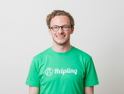 Benedikt Franke, co-founder di Helpling