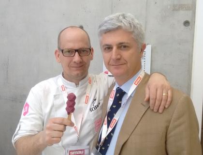 Marco Bicocchi Pichi con David Marx, food designer e imprenditore