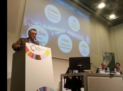 L'AD di LVenture Group, Luigi Capello, parla al GEC 2015 a Milano