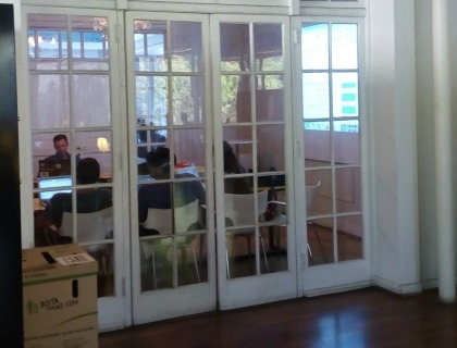 Il coworking di Start-Up Chile
