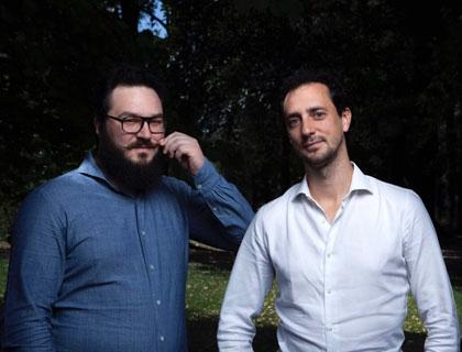 I founder di Maikii: da sinistra, Francesco Poloniato e Matteo Fabbrini