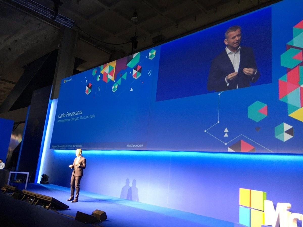L'intervento di Carlo Purassanta AD Microsoft Italia