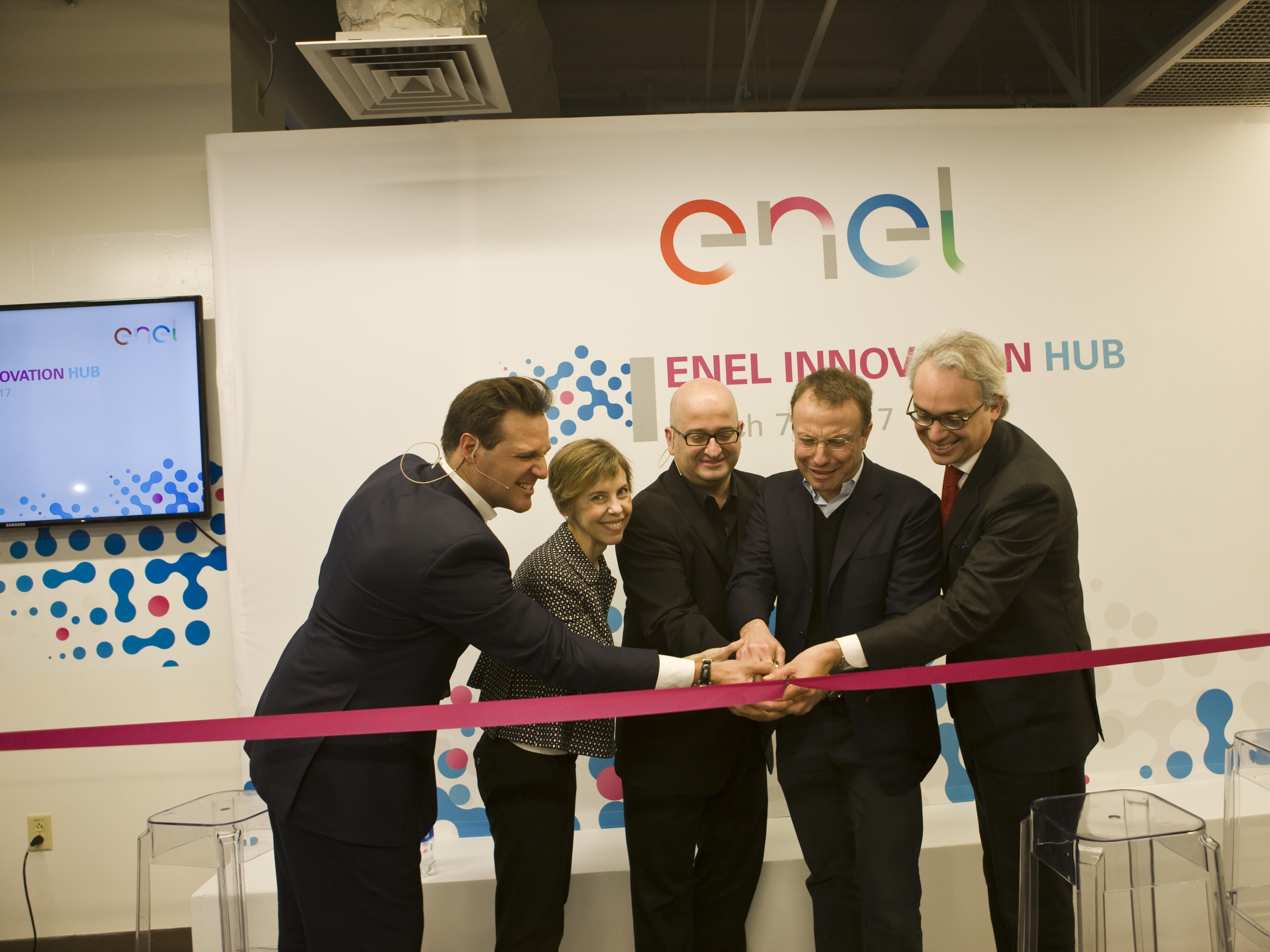 L'inaugurazione dell'Innovation Hub di Enel nel Berkeley Campus