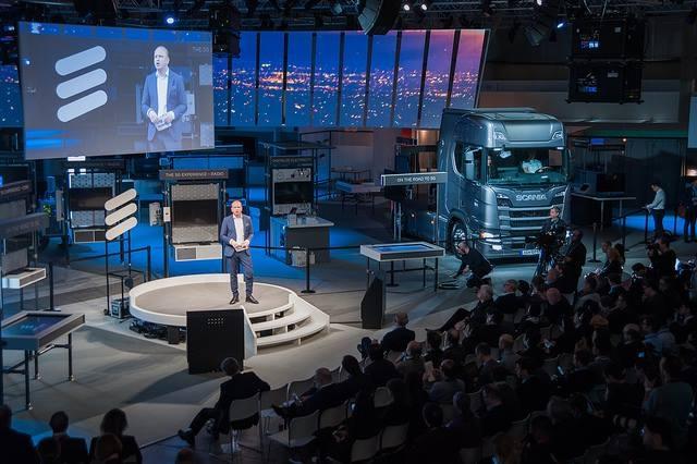 Ericsson presenta il camion 2.0