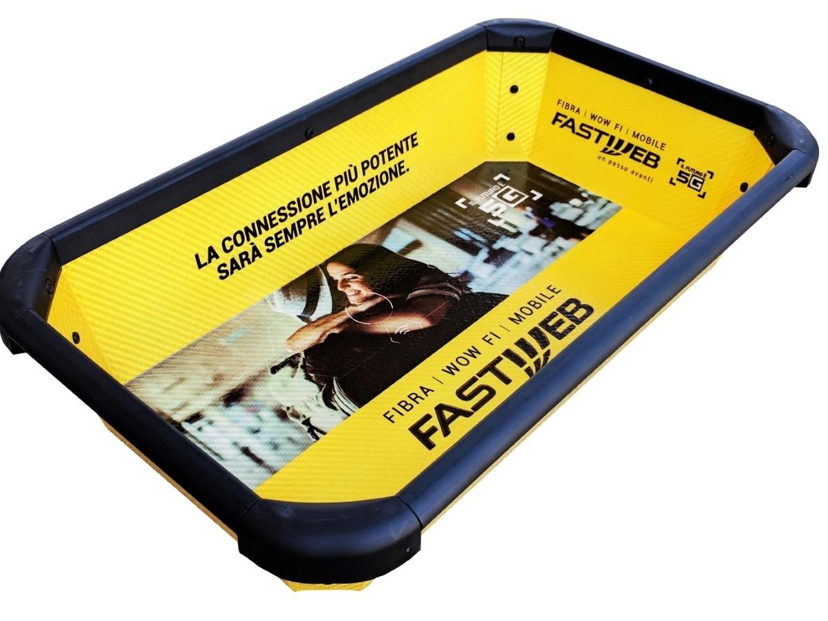 La cesta brandizzata Fastweb
