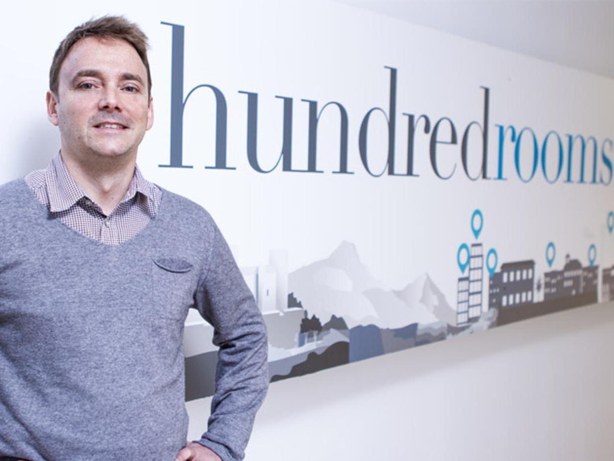José Luis Martínez CEO e fondatore di Hundredrooms