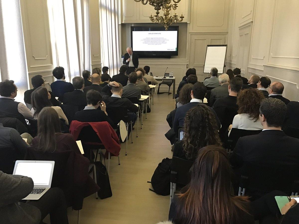 La conferenza di presentazione del portale Finanziamentistartup.eu