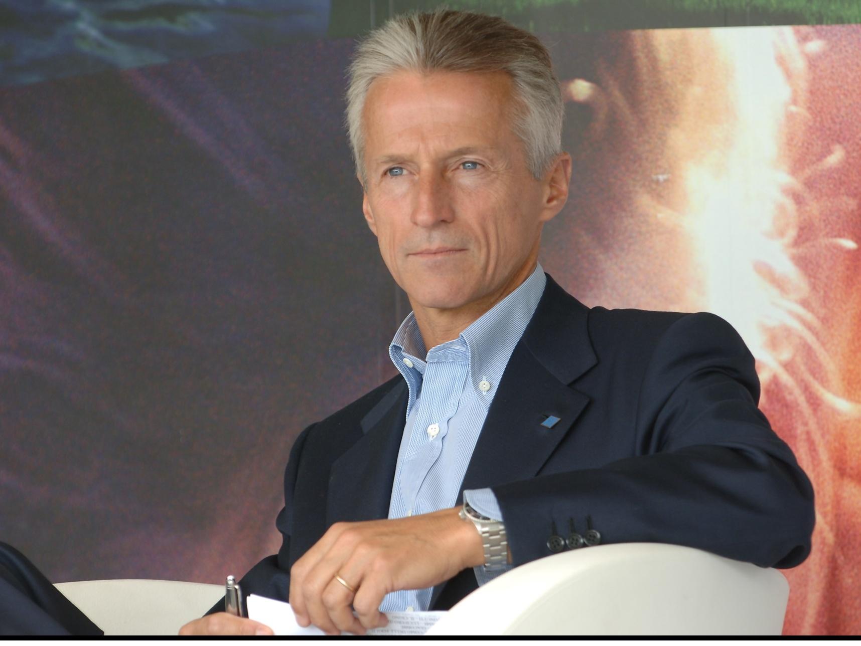Riccardo Illy, presidente del Gruppo Illy