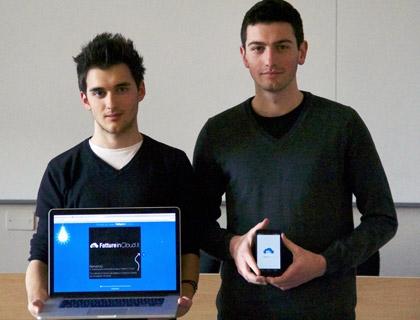 Daniele Ratti e Matteo Milesi, team di Fatture in Cloud