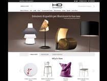 Il sito di e-commerce Homu Design