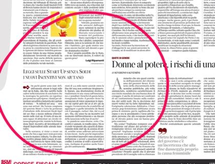 L'opinione di Massimo Sideri sul Corriere della Sera del 16 aprile