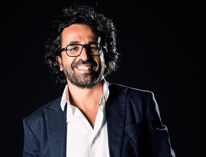 Stefano Saladino, presidente dell'Associazione Luoghi di Relazione