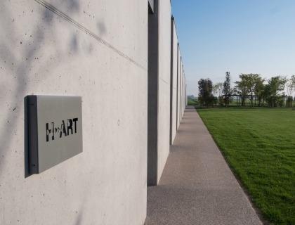 La sede di H-Art a Roncade, all'interno di H-Farm
