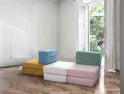 Rodolfo, il divano lanciato da Lovethesign