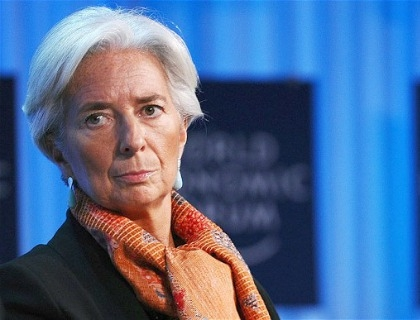 Christine Lagarde, managing director del Fondo monetario internazionale