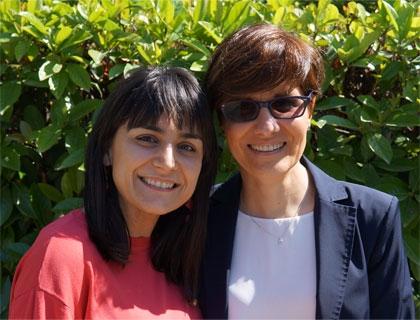 Cristina Angiolillo, founder di Marshmallow con l'imprenditrice Mariarita Costanza