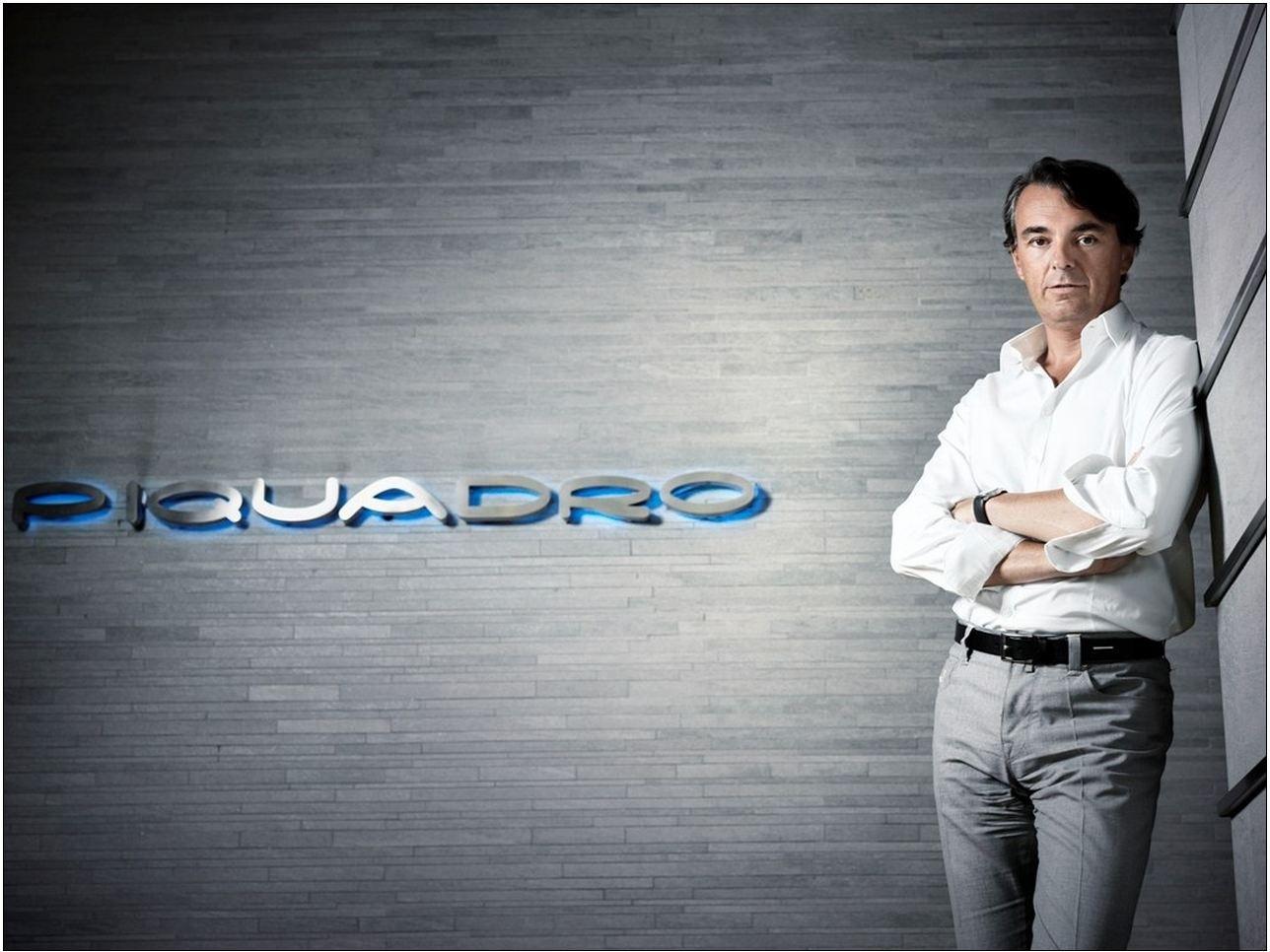 Marco Palmieri CEO di Piquadro