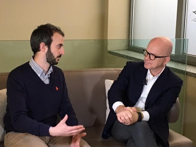 Giovanni Iozzia con Giulio Coluccia, fondatore e CEO di ToothPic
