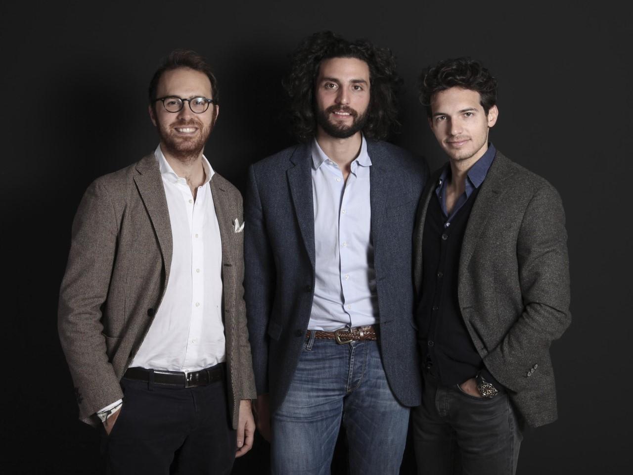 Il team di Foorban (Stefano Cavaleri, Marco Mottolese, Riccardo Pozzoli)