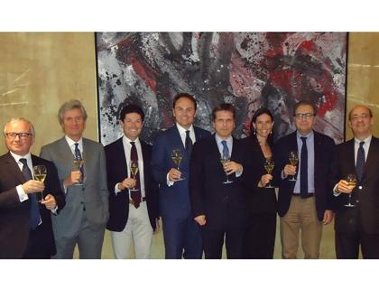 """La giuria del premio Ferrari """"L'Arte di Vivere Italiana"""""""