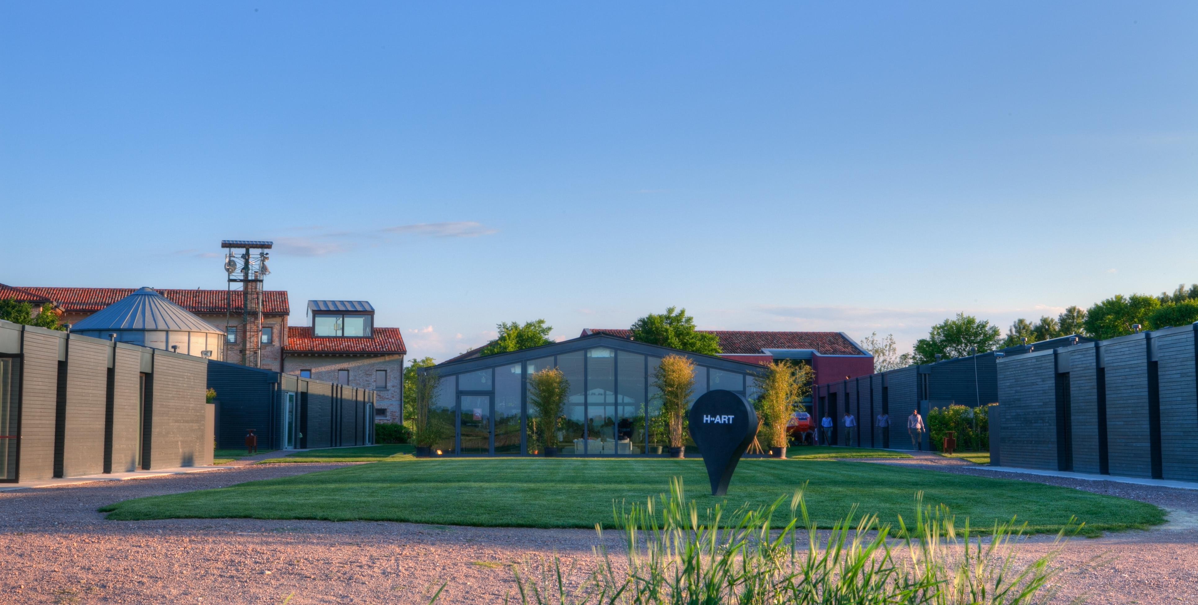 La nuova sede di H-art a Ca' Tron