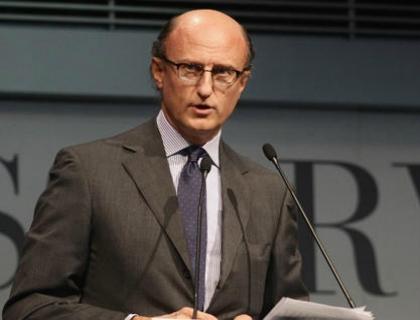 Paolo Zegna, presidente del comitato tecnico per l'internazionalizzazione di Confindustria