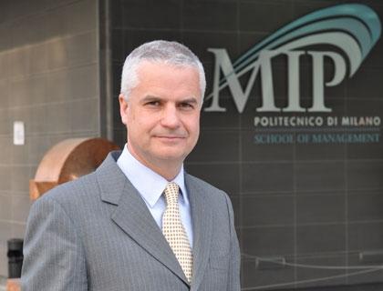 Prof Gianluca Spina, Presidente MIP Politecnico Milano