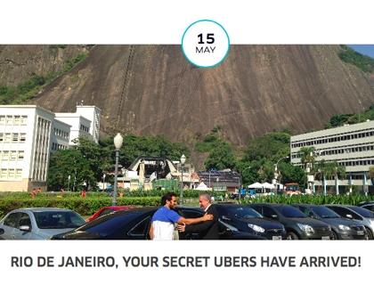 Uber è presente in un centinaio di città di 36 Paesi. Da pochi giorni anche a Rio De Janeiro