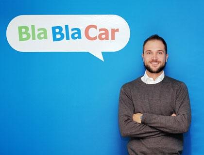 Andrea Saviane, country manager Italia di BlaBlacCar