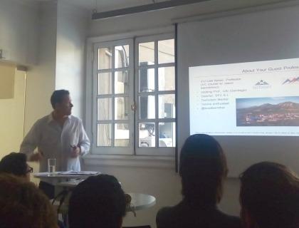 Brad Bernthal a Start-Up Chile