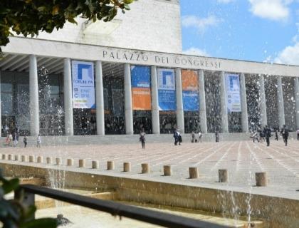 Il Palazzo dei Congressi a Roma