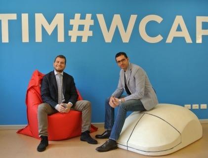 Da sinistra Simone Di Somma, Managing Director, e Giuseppe Ancona, Director Innovation di Innaas